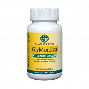 Amazing Herbs GlyMordica 60 Vegetarian Capsules