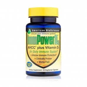 American Biosciences ImmPower D3 30 Vegetarian Capsules