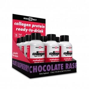 Collagen Protein Shots Sugar-Free Chocolate Raspberry