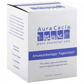 Aura Cacia Aromatherapy Vaporizer with Oil 0.5 oz bottle