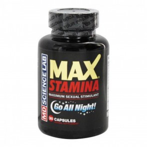 Max Stamina Maximum Sexual Stimulant 30 Capsules by MD Science Lab