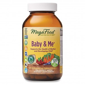 MegaFood Baby & Me 120 Tablets