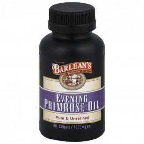 Barlean's Organic Evening Primrose Oil 1300 mg 60 Capsules