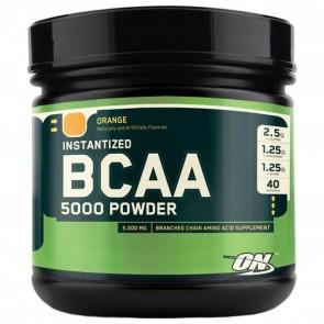 Optimum Nutrition Instantized BCAA 5000 Powder Orange 13.40 oz (380 Grams)