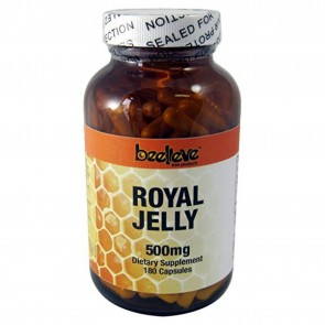 Beelieve Bee Products Royal Jelly 500 mg Capsules 90 ea