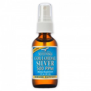 Colloidal Silver 500 PPM 2 fl oz Spray