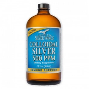 Colloidal Silver 500 PPM 32 fl oz