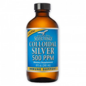 Colloidal Silver 8 fl oz (Cap Top)