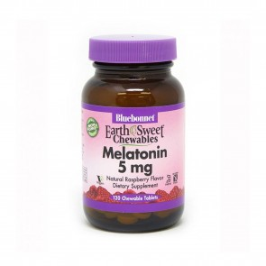 Bluebonnet Earth Sweet Chewables Melatonin 5mg
