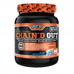ALR Industries- Chain'd Out BCAA Blue Raspberry 60 Servings (621 Grams)