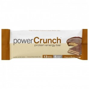 BNRG, Power Crunch - High Protein Energy Wafer Bar Peanut Butter Fudge - 1.4 oz.