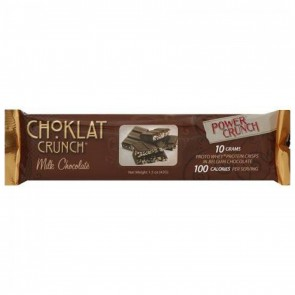 BNRG, Power Crunch, Protein Energy Bar, Choklat, Milk Chocolate, 1, 1.5 oz (42 g) Each