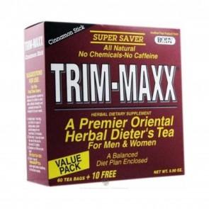 Body Breakthrough Trim-Maxx Tea for Men and Women Cinnamon Stick 70 Tea Bags