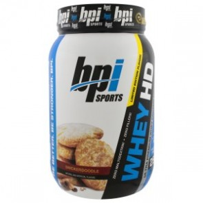 BPI Whey HD Snickerdoodle 1.7 lbs