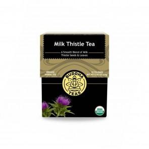 Buddha Teas Milk Thistle Tea Kosher Caffeine 18 Tea Bags