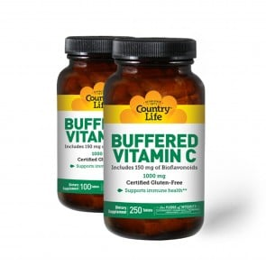 Country Life Buffered Vitamin C with Bioflavonoids