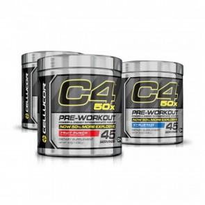 C4 50X Pre-workout 50% More Explosive
