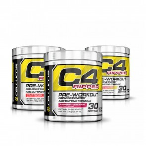 C4 Ripped Pre-workout Cutting Formula