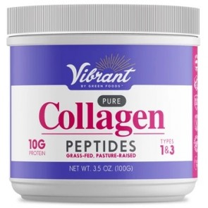 Green Foods Vibrant Pure Collagen Peptides 100 grams