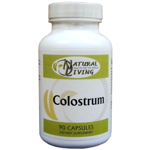 Colostrum 600mg 90cp by Natural Living