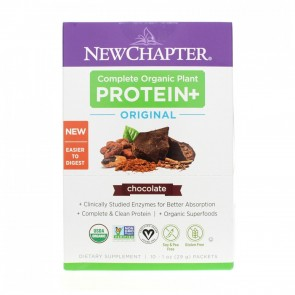New Chapter Plant Protein Chocolate Packets