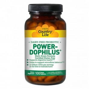 Country Life Power Dophilus 100 Vegetarian Capsules