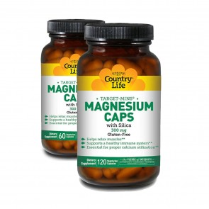 Country Life Target-Mins Magnesium Caps