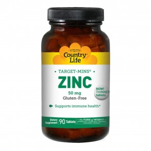 Zinc 50 mg from Country Life