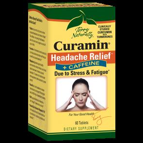 Terry Naturally Curamin Headache Relief and Caffeine | Curamin Headache Relief and Caffeine