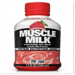 CytoSport Muscle Milk RTD   17 Fl. Oz. Strawberries 'N Creme