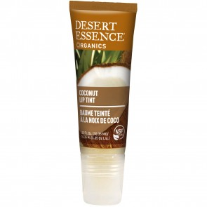 Desert Essence Organics Coconut Lip Tint .35 fl. oz 3 Pack
