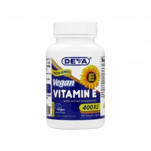 Deva Vegan Vitamin E 400 IU