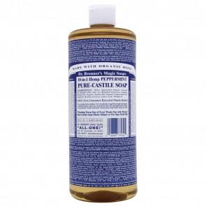 Dr. Bronner's Pure Castile Soap Peppermint