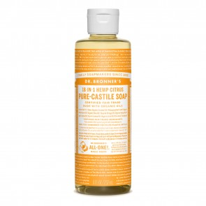 Dr. Bronner's Castile Soap Citrus Orange 8 oz