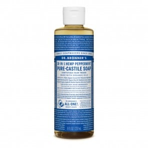 Dr. Bronner's Castile Soap Peppermint 8 oz