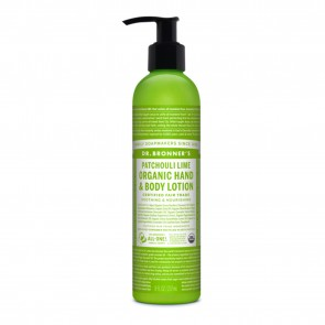 Dr. Bronner's Organic Hand & Body Lotion Patchouli Lime 8 oz