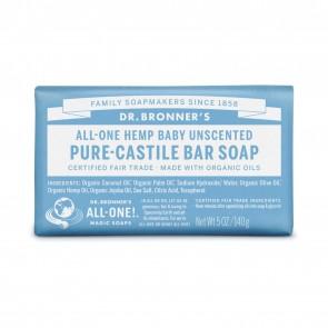 Dr. Bronner's Pure Castile Soap Bar Baby Mild 5 oz