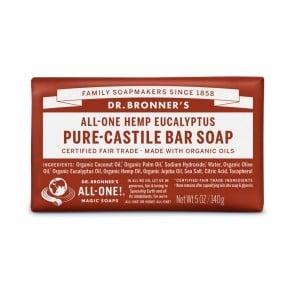 Dr. Bronner's Pure Castile Soap Bar Eucalyptus 5 oz