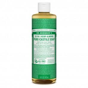 Dr. Bronner's Pure Castile Liquid Organic Soap Almond 16 oz