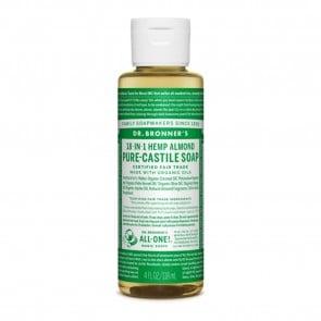 Dr. Bronner's Pure Castile Liquid Organic Soap Almond 4 oz