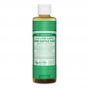 Dr. Bronner's Pure Castile Liquid Organic Soap Almond 8 oz