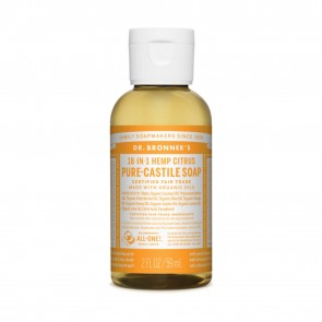 Dr. Bronner's Pure Castile Soap Citrus Orange 2 oz