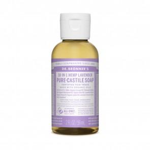 Dr. Bronner's Pure Castile Liquid Soap Lavender 2 oz