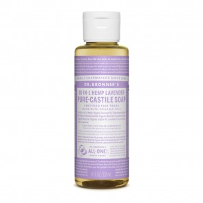 Dr. Bronner's Pure Castile Liquid Organic Soap Lavender 4 oz