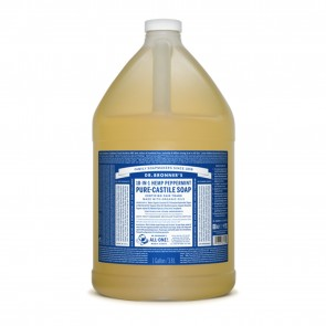 Dr. Bronner's Pure Castile Liquid Organic Soap Peppermint 1 Gallon