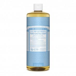 Dr. Bronner's Pure Castile Liquid Soap Baby Mild 32 oz