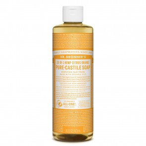 Dr. Bronner's Pure Castile Soap Citrus Orange 16 oz