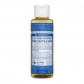 Dr. Bronner's Pure Castile Soap Peppermint 4 oz