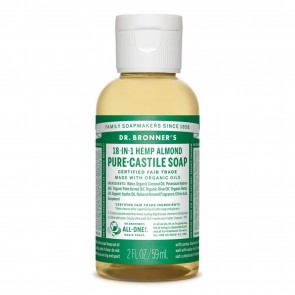 Dr. Bronner's Pure Castile Liquid Soap Almond 2 oz