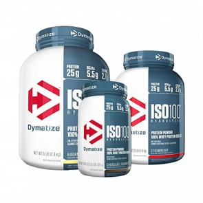 Dymatize Nutrition ISO-100 100% Whey Protein Isolate